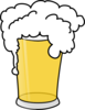 Simple Pint Glass Clip Art