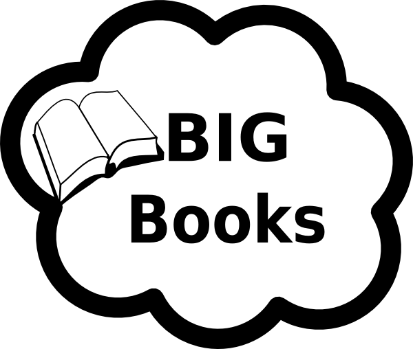 Big Books Sign Clip Art At Clker Com Vector Clip Art