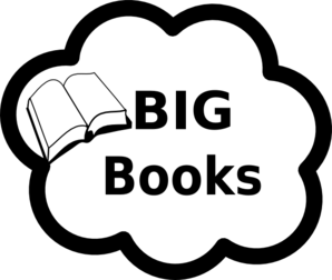 Big Books Sign Clip Art