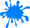 Blue Splash Clip Art