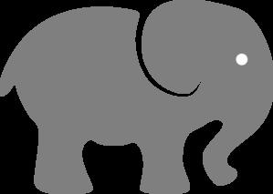 pink elephant clip art at clker com vector clip art online rh clker com free clipart elephant outline free elephant clipart baby shower