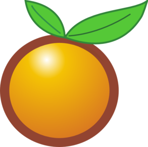 Orange Svg Png Clip Art