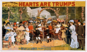 Charles Frohman S $40,000 Production, The Modern Spectacle, Hearts Are Trumps Written By Cecil Raleigh ; Presented As Produced By Arthur Collins At The Theatre Royal, Drury Lane, London. Clip Art