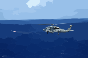 An Sh-60f Sea Hawk Assigned To The Clip Art
