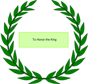 Olive Wreath-honor Clip Art
