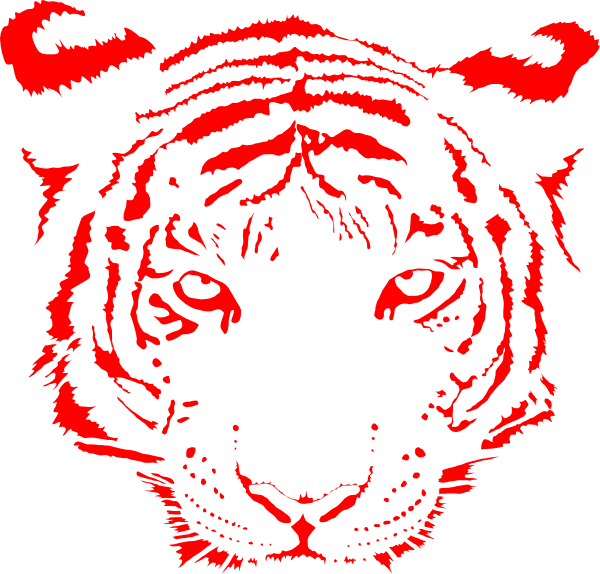 Mountain View Gotebo Tiger Clip Art at Clker.com - vector ...