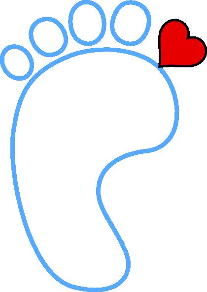 foot heart clip art at clker com vector clip art online royalty rh clker com Cartoon Foot Broken Foot Clip Art