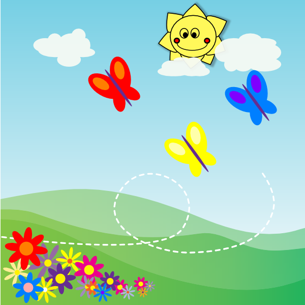 clipart garden flowers - photo #26