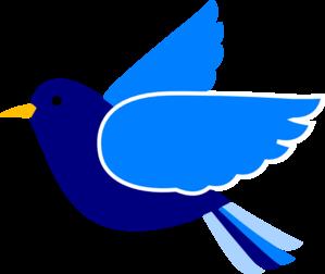 blue bird left2 clip art at clker com vector clip art online rh clker com bluebird clipart free bluebird clipart images