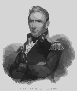 Gen. Wm. H. Harrison Clip Art