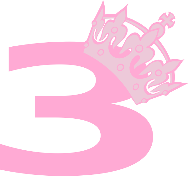Pink crown clipart - photo#15