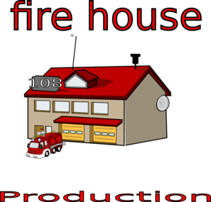 Fire House Clip Art