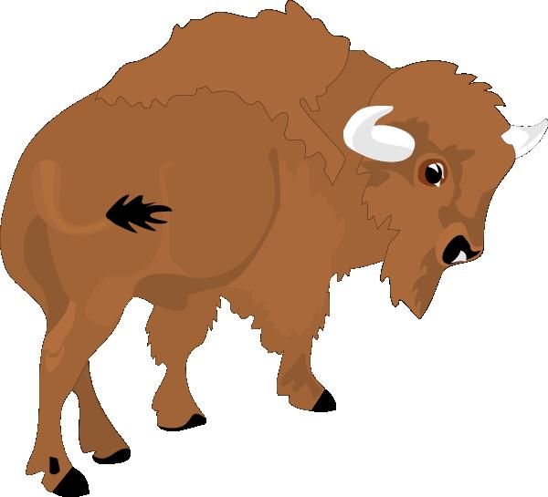 bison clip art at clker com vector clip art online royalty free rh clker com bison clip art images bison clip art black and white