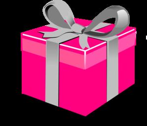 pink present box clip art at clker com vector clip art online rh clker com clip art presents under christmas tree clip art present