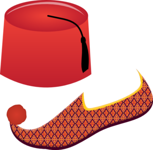 Turkish Attire Clip Art
