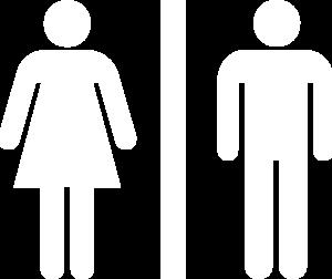Bathroom Sign Png white restroom symbol clip art at clker - vector clip art