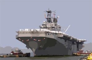 The Amphibious Assault Ship Uss Nassau (lha 4) Returns To Its Homeport Of Naval Station Norfolk Clip Art