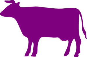 purple cow clip art at clker com vector clip art online royalty rh clker com clipart of cow head clipart of cow black and white