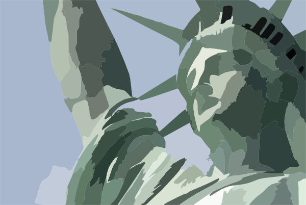 Statue Of Liberty Face Clip Art at Clker.com - vector clip ...