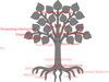 Tree With Roots/black Clip Art