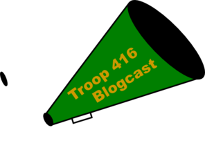Troop 416 Bullhorn Clip Art