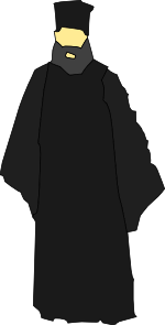 Eastern Church Catholic Monk Clip Art