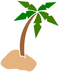 Coconut Tree Clip Art