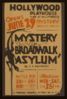 Mystery Of Broadwalk Asylum  By C.e. Reynolds Clip Art