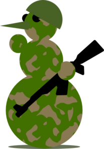 snowman military clip art at clker com vector clip art online rh clker com free military clip art downloads free military clipart photos