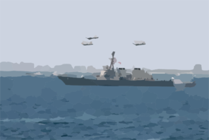 Uss Mcfaul - Fleet Week Clip Art