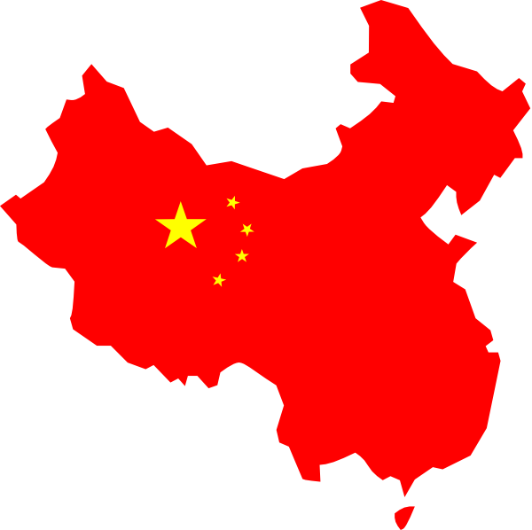 China Map Clip Art at Clker.  vector clip art online, royalty