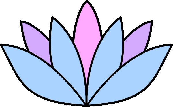 lavender lotus flower clip art at clker com vector clip art online rh clker com clipart lavender flowers lavender clipart black and white