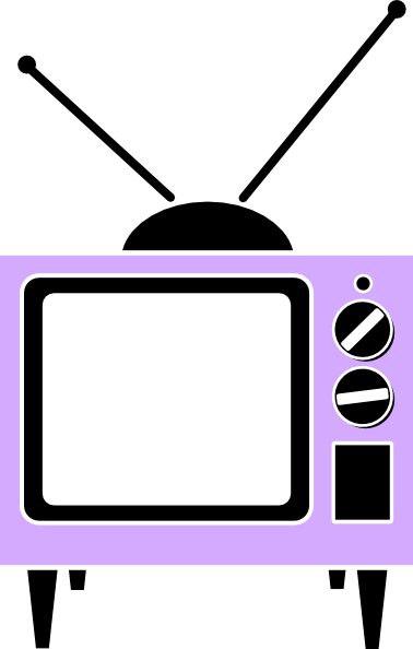 pink tv clip art at vector clip art online royalty free public domain. Black Bedroom Furniture Sets. Home Design Ideas