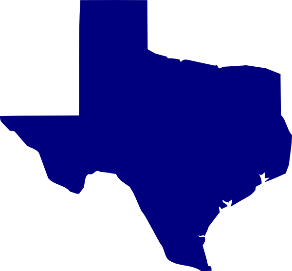 clipart map of texas - photo #10