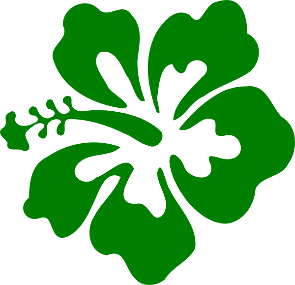 free green flower clipart - photo #32