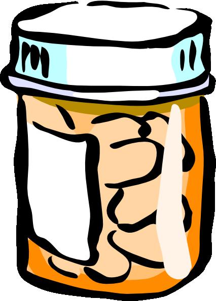 medicine bottle clip art at clker com vector clip art online rh clker com Prescription Pill Bottles Prescription Bottle Cartoon