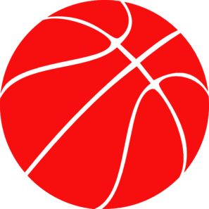 red basketball clip art at clker com vector clip art online rh clker com free clip art baseball field free clip art basketball hoops