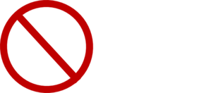 Red No Sign Clip Art at Clker com - vector clip art online  royalty    Red No Sign