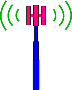 Cellular Tower Clip Art