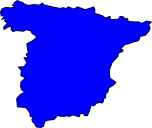 Spain Peninsule Clip Art
