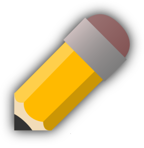 Edit Pencil Icon Clip Art