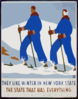 They Like Winter In New York State The State That Has Everything / J. Rivolta. Clip Art
