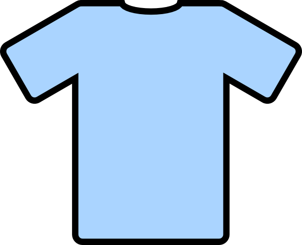 t shirt shape clipart - photo #33