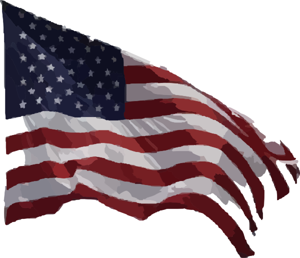 clip art of american flag animated - photo #46