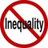 No Inequality Clip Art
