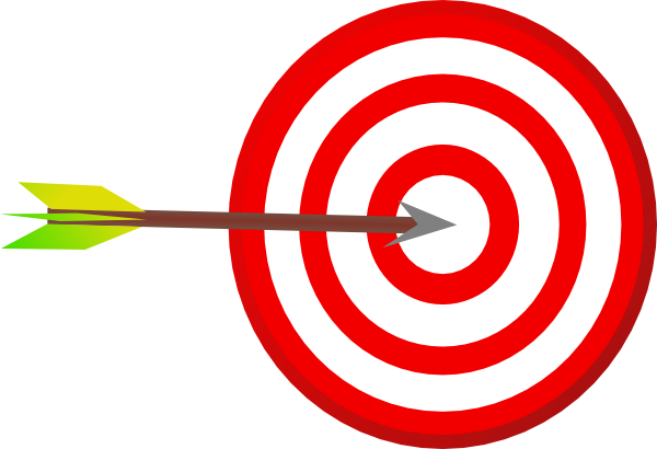 clip art arrow target - photo #1