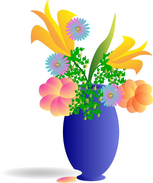 free clipart bouquet of flowers - photo #36