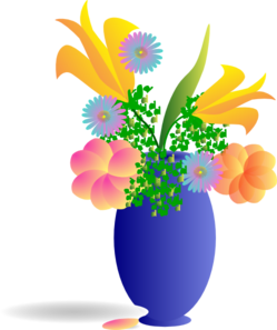Bunch Of Flowers Clip Art
