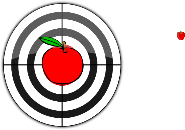 clipart of target - photo #40