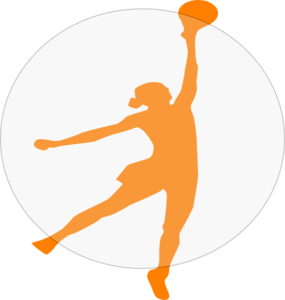 Netball Stretch Clip Art